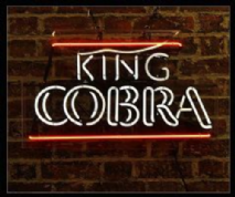 King Cobra Neon Sign 1